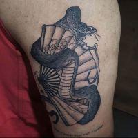 Mitch-sydney-snake-tattoo